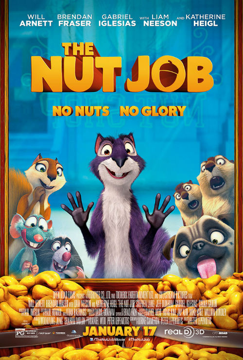 The Nut Job - OneSheet