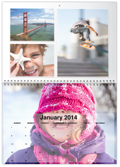 Vukee photo calendar