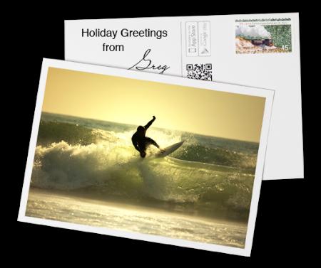 Vukee postcard