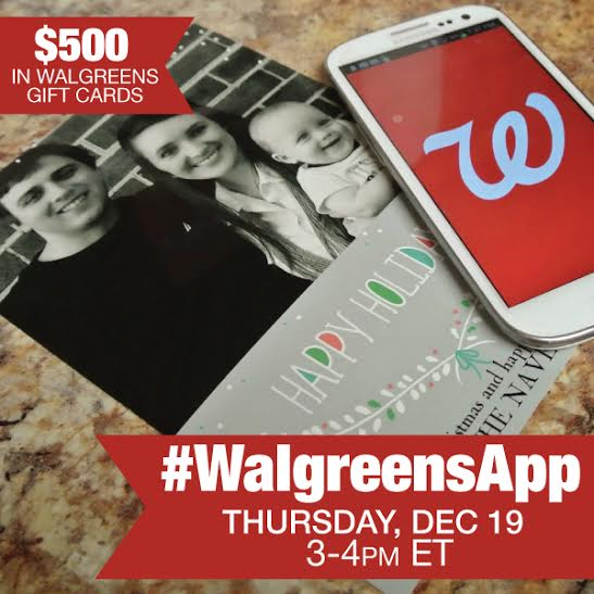 Join Me At The #WalgreensApp Twitter Party