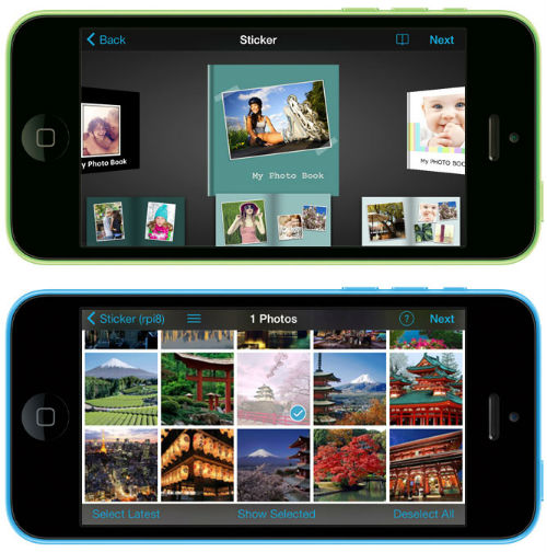 how to use Vukee photo app