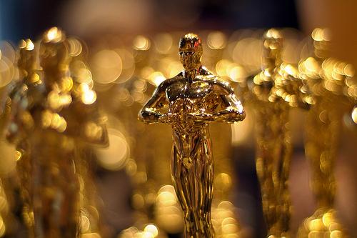Academy Award Oscar statues