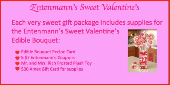 Entenmann's Sweet Valentine's prize pack