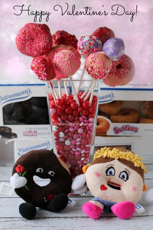 Entenmann's donuts valentine bouquet