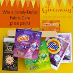 Freshen Up Your Laundry with Family Dollar, Tide & Gain + Giveaway