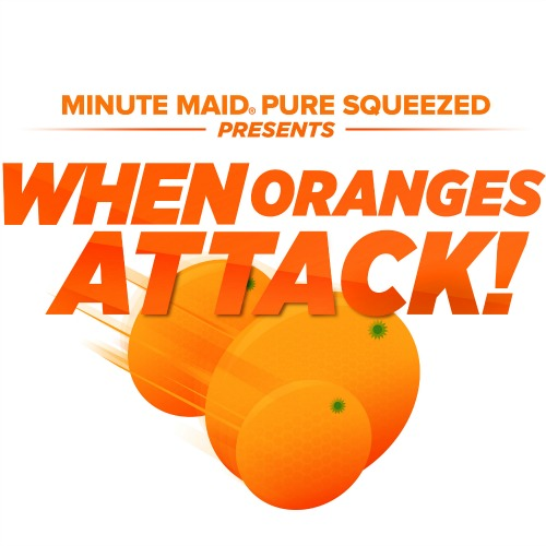 Minute Maid When Oranges Attack-logo