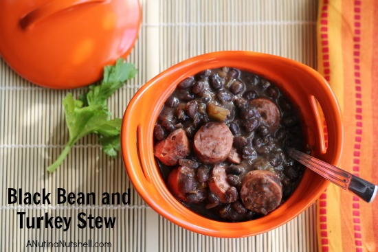 Black Bean and Turkey Stew