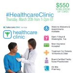 Join Me for the #HealthcareClinic Twitter Party