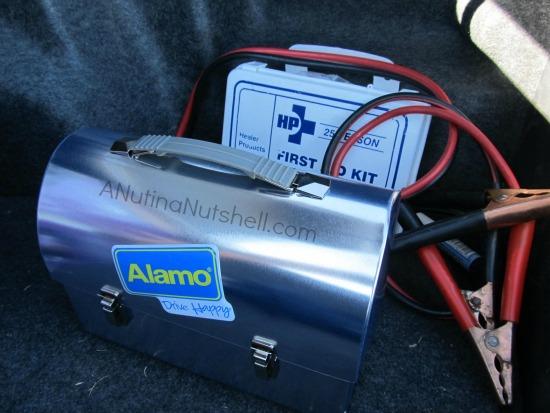 Alamo Drive Happy box - planning a fun journey - road trip