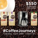 Join Me at the #CoffeeJourneys Twitter Party!