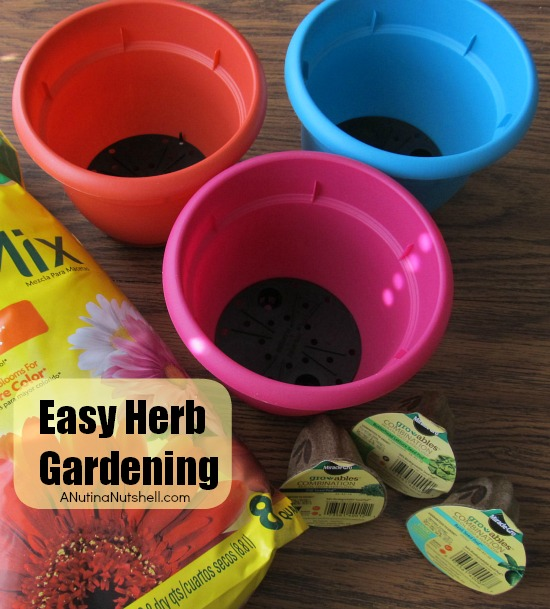 Easy Herb Gardening