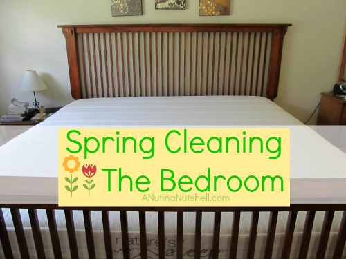 Spring Cleaning the Bedroom