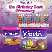 Viactiv 15th Birthday Bash Giveaway
