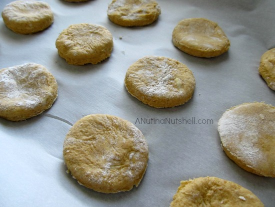 pumpkin biscuits #recipe