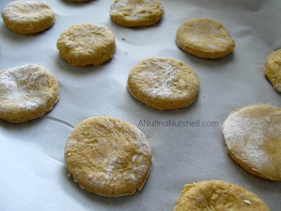 pumpkin biscuits #recipe