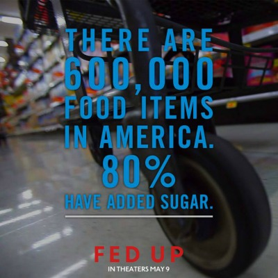 Fed Up Movie facts about sugar