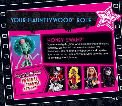 Honey Swamp - Monsters High doll
