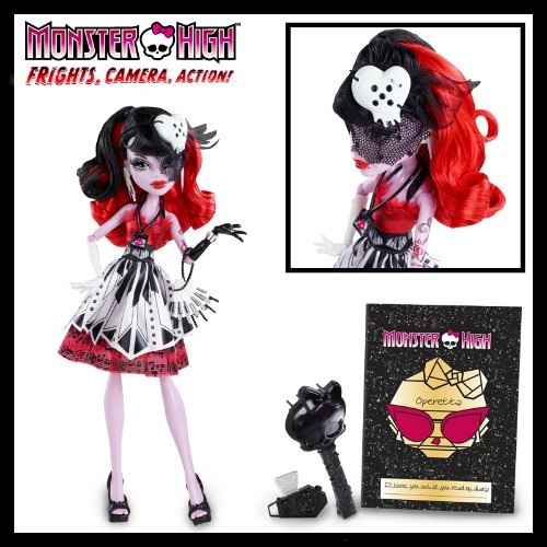 Monster High Operetta Doll