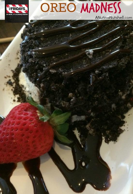 TGI Fridays Oreo Madness dessert