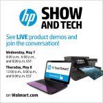 HP LIVE Demo Event #HPShowandTech + Retweet To Win $50 Walmart GC Giveaway