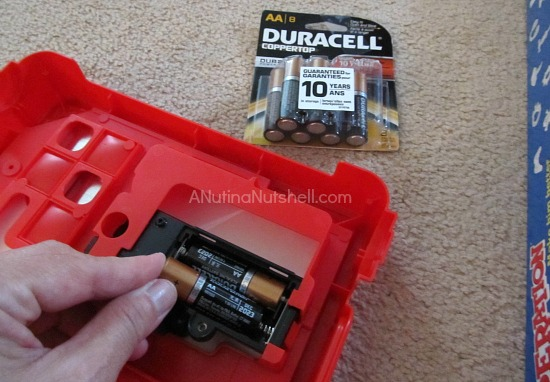 Duracell batteries - Hasbro games