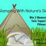 Glamping With Nature's Sleep Giveaway #NaturesSleep