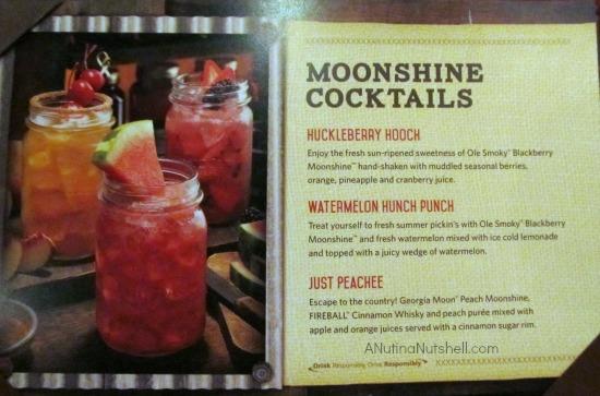 Moonshine Cocktails- Outback Steakhouse