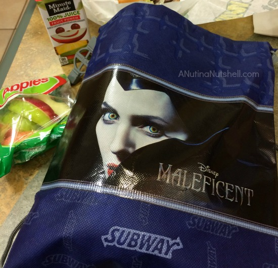 Subway Maleficent backpack