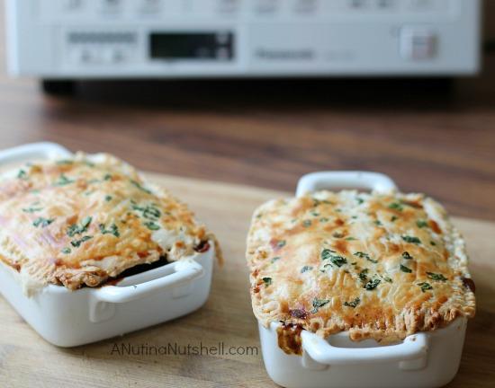 Pepper Steak Pot Pie #InAFlash - Eat Move Make