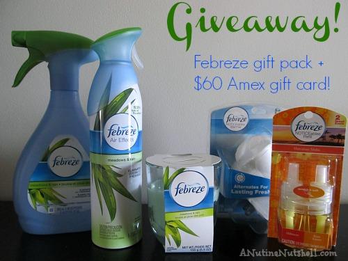 Febreze prize pack