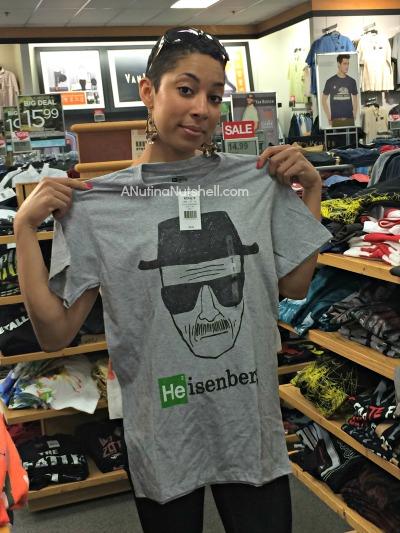 Heisenberg tshirt-Kohl's