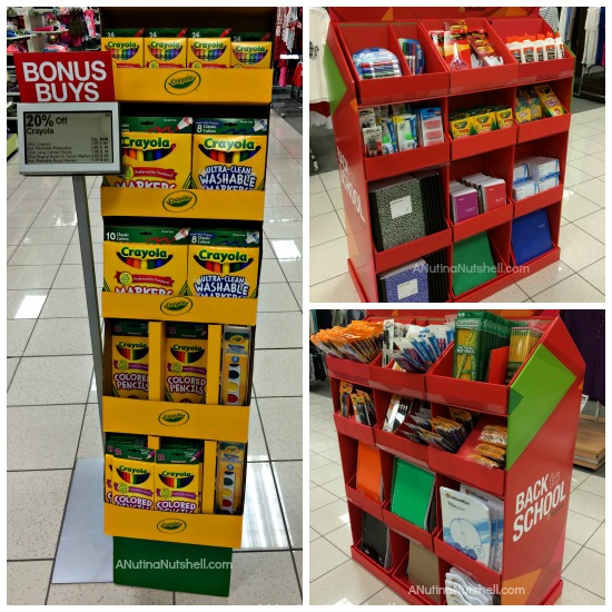 Kohl's - Office Max school supplies