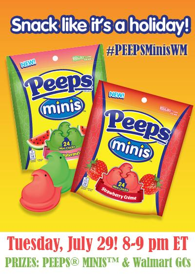 #PeepsMinisWM Twitter Party
