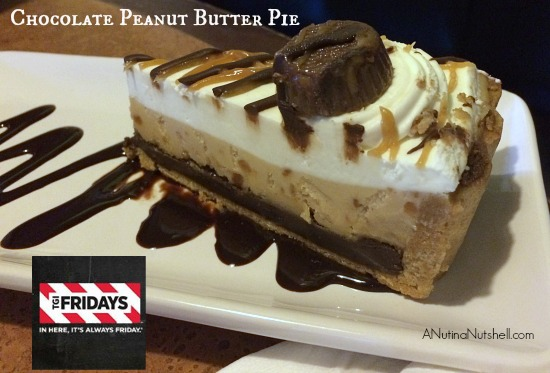 TGI Fridays Chocolate Peanut Butter Pie