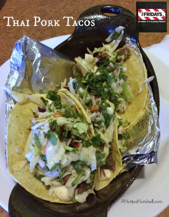 TGI Fridays Thai Pork Tacos