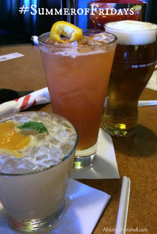 TGI Fridays cocktails #SummerofFridays