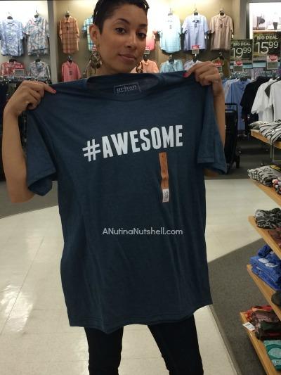 hashtag awesome tshirt - Kohl's
