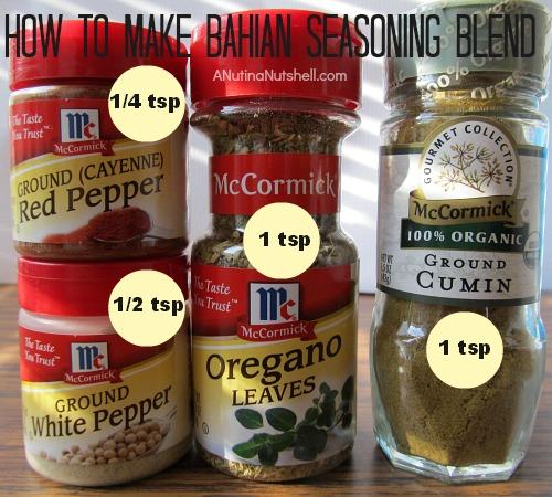 how to make Bahian seasoning blend