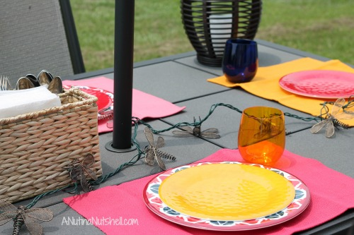 outdoor entertaining with Kohl's