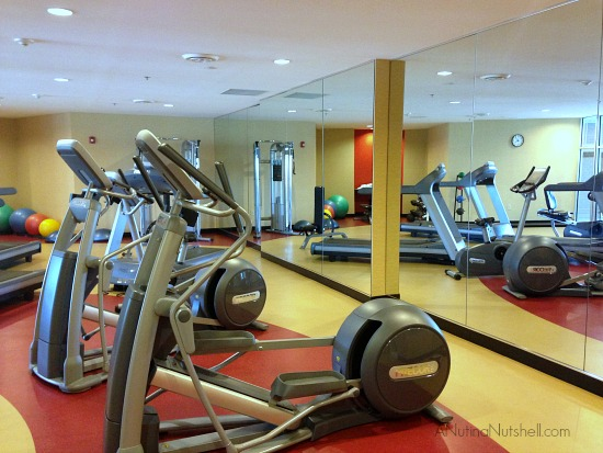 Cambria Suites fitness room