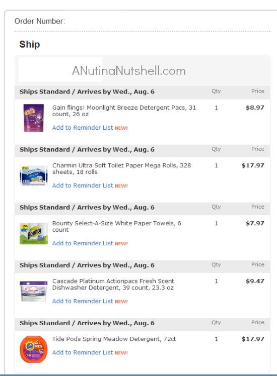 Walmart P&G purchase