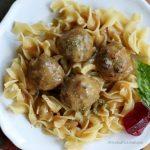 'Tastes Like Thanksgiving' Meatballs