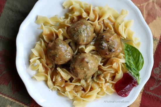 Tastes Like Thanksgiving Meatballs recipe