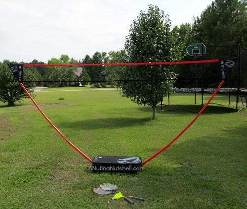 portable badminton set - Zume Games Freestanding Badminton Set - Eat Move Make