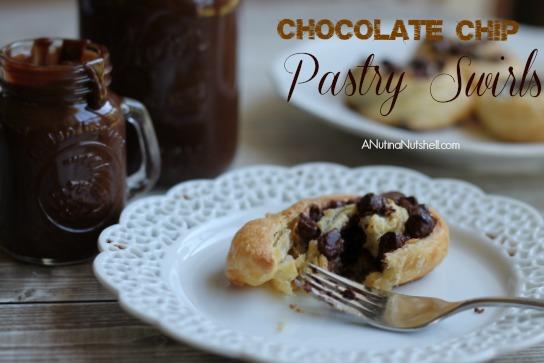 Chocolate Chip Pastry Swirls