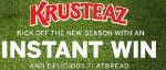 Kick Off The Season with the Krusteaz Flatbread Instant Win Game