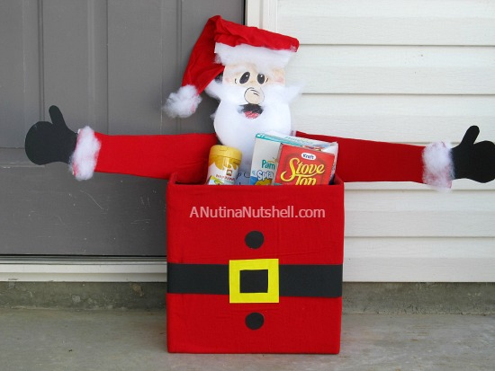 Santa donation box
