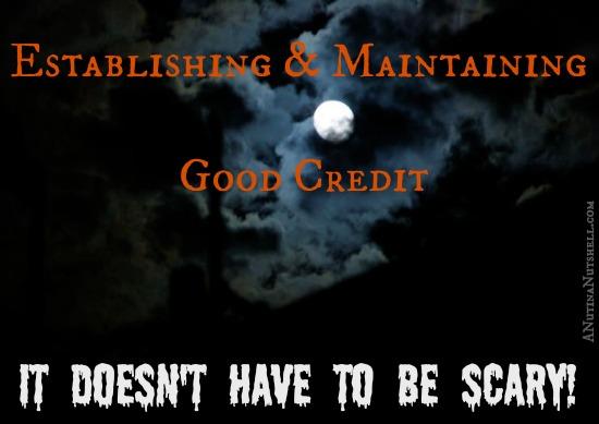 establishing and maintaining good credit
