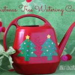Holiday DIY Crafts | Christmas Tree Watering Can