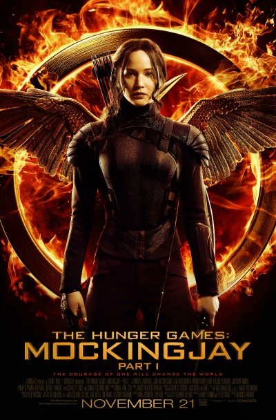 Life Lessons from The Hunger Games Mockingjay Part 1 - Movie Poster